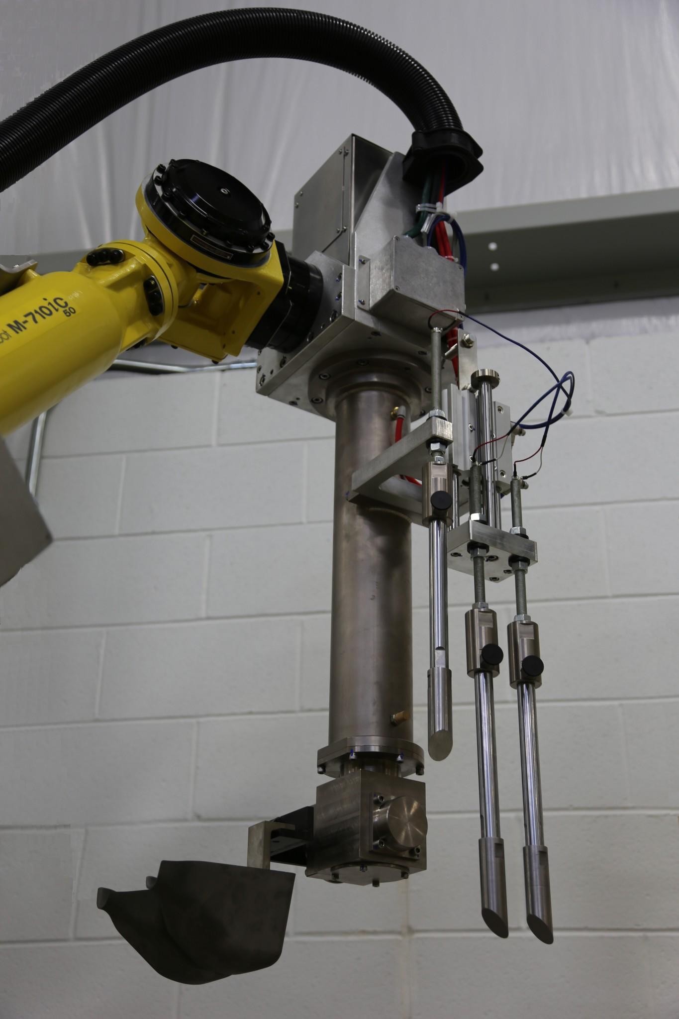 Robotic Gravity Die Casting - Kinemetrix