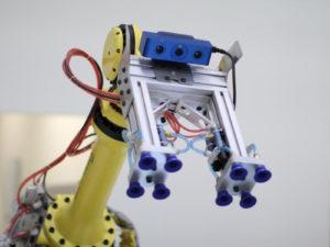 Robot Mounted sensor 3x4